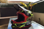 Troy Lee Designs D3 Carbone Speeda Yellow