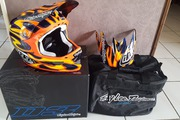 Casque TROY LEE DESIGN D3 Carbone taille M neuf