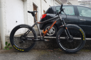 FAT BIKE ONE ONE FATTY TRAIL  (Sram NX)