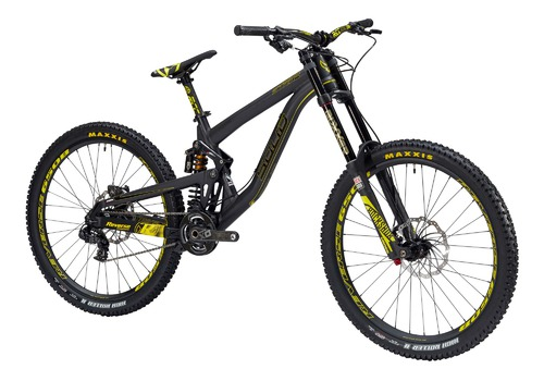 Solid Bikes STRIKE 650B BLACKSTAR Yellow 2016