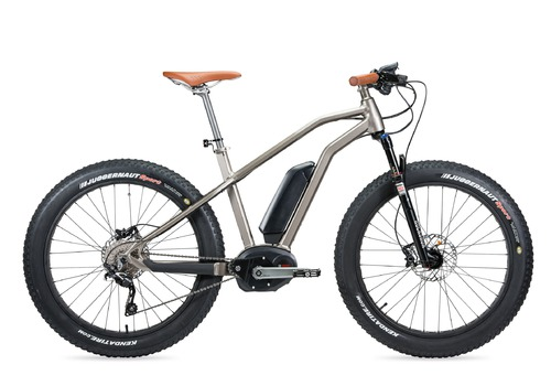 Moustache Bikes STARCKBIKE FAT SAND E-BIKE 2016