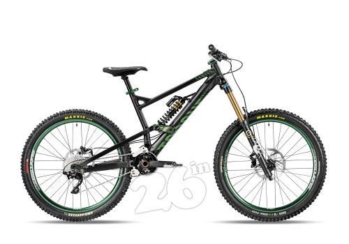 CANYON TORQUE FRX 8.0 DROPZONE 2012