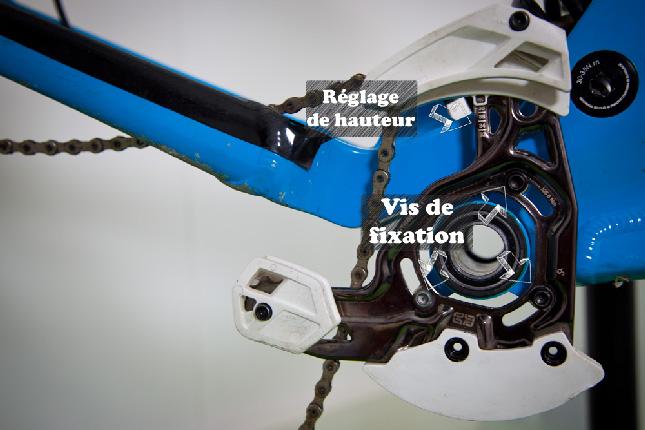 Installer un anti-déraillement ou guide-chaîne