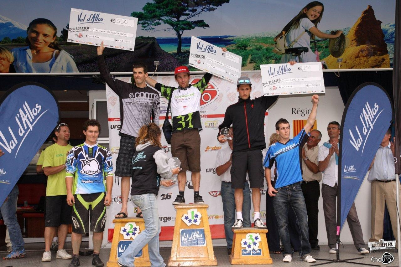 podium hommes