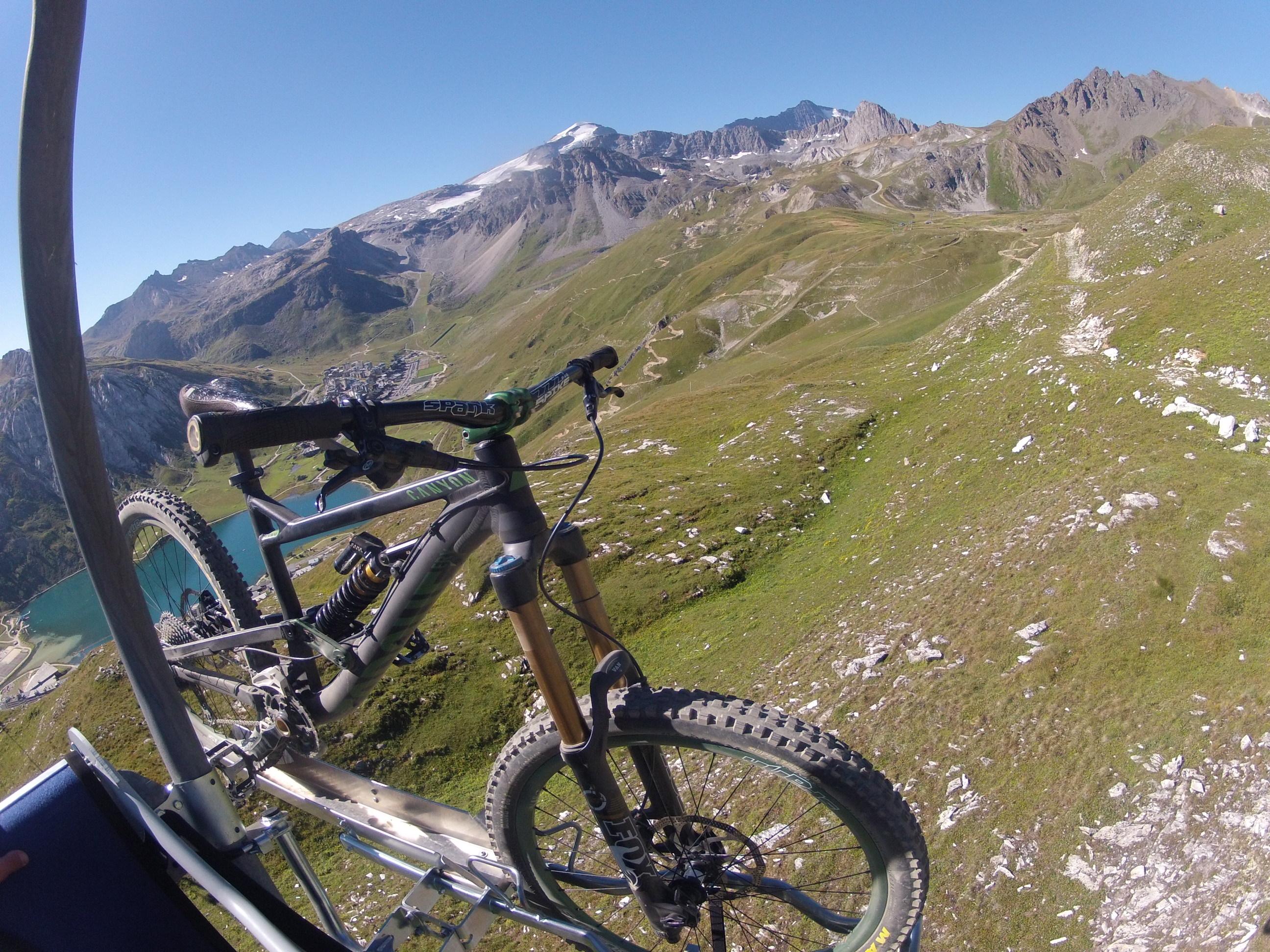 Tignes-Canyon Bike park