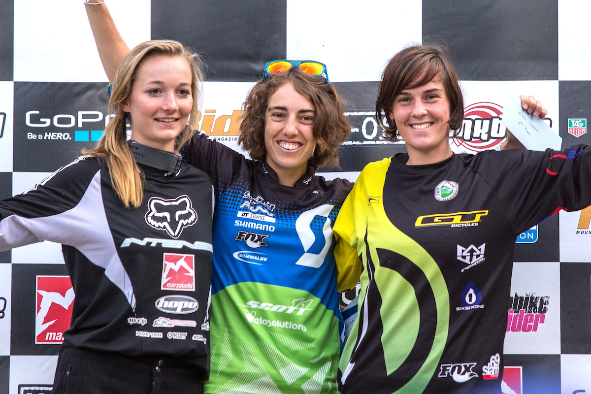 podium dames
