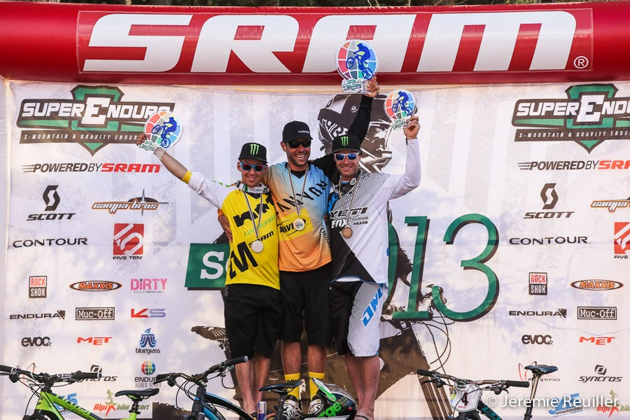 First podium of the Enduro World Series