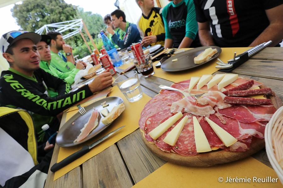 Italian lunch break