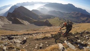 Escapade: Kilian Bron au Mont Charvin