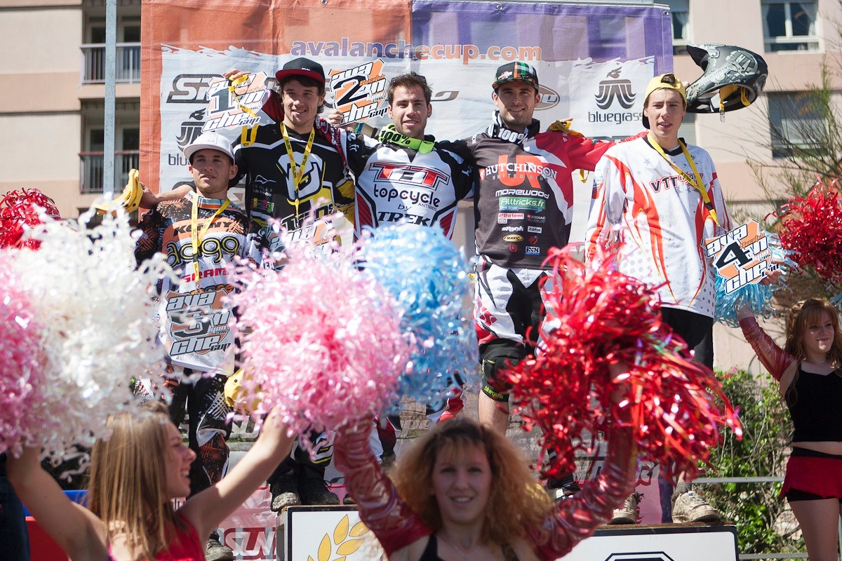 Podium DH