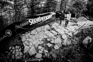 Fort William - DH WC #3 - Piste et paddock