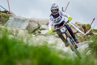 Fort William - DH WC #2 Trainings