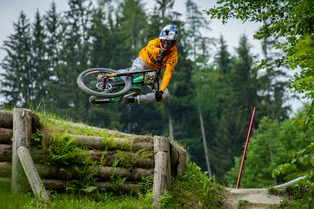 Leogang - qualifications - WC DH #3