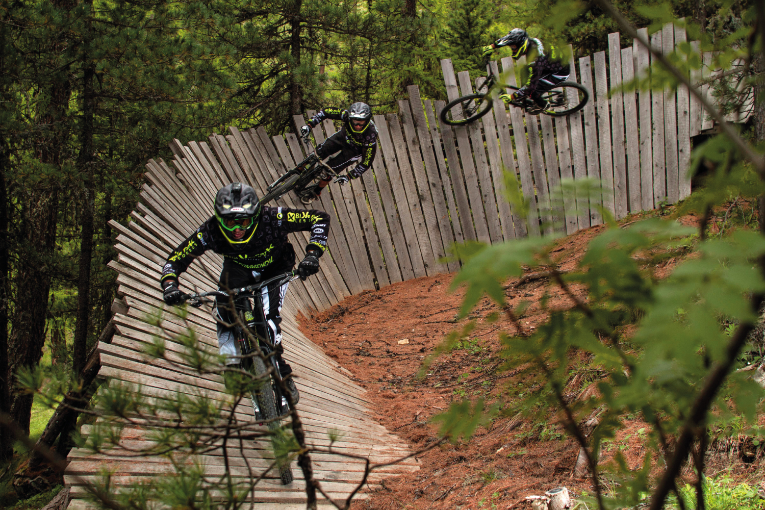 Bike Park Les Orres - North Shore