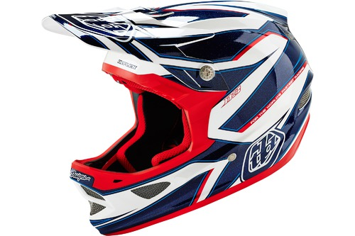 Troy Lee Designs D3 COMPOSITE REFLEX WHITE