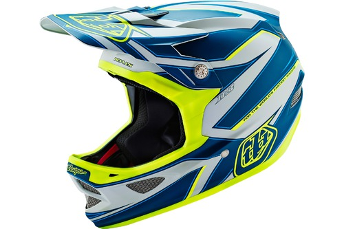 Troy Lee Designs D3 COMPOSITE REFLEX GRAY/YELLOW