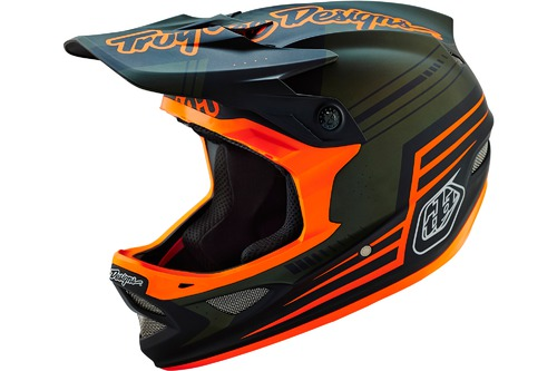 Troy Lee Designs D3 COMPOSITE BERZERK ARMY GREEN