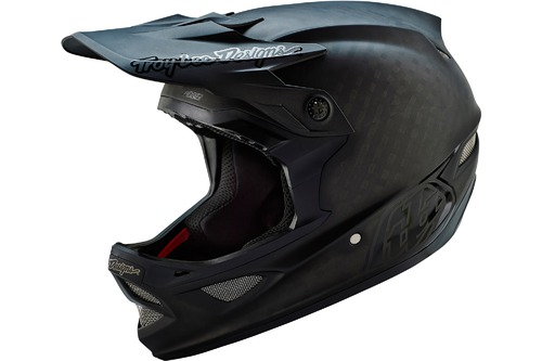 Troy Lee Designs D3 CARBON MIDNIGHT BLK