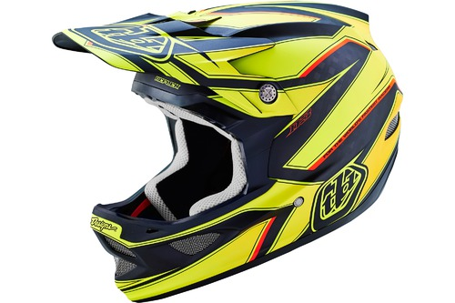 Troy Lee Designs D3 CARBON REFLEX YELLOW