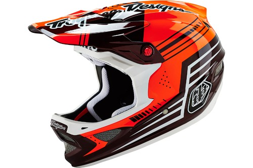 Troy Lee Designs D3 CARBON BERZERK RED