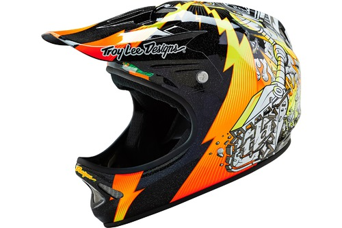 Troy Lee Designs D2 INVADE BLACK