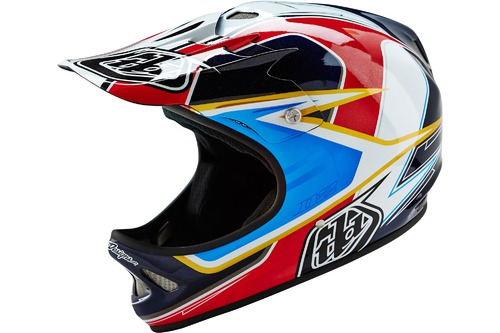 Troy Lee Designs D2 SONAR RED/WHITE