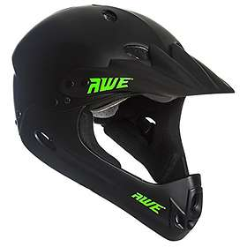 AWE AWE® BMX Casque complet noir Taille moyenne 58-62