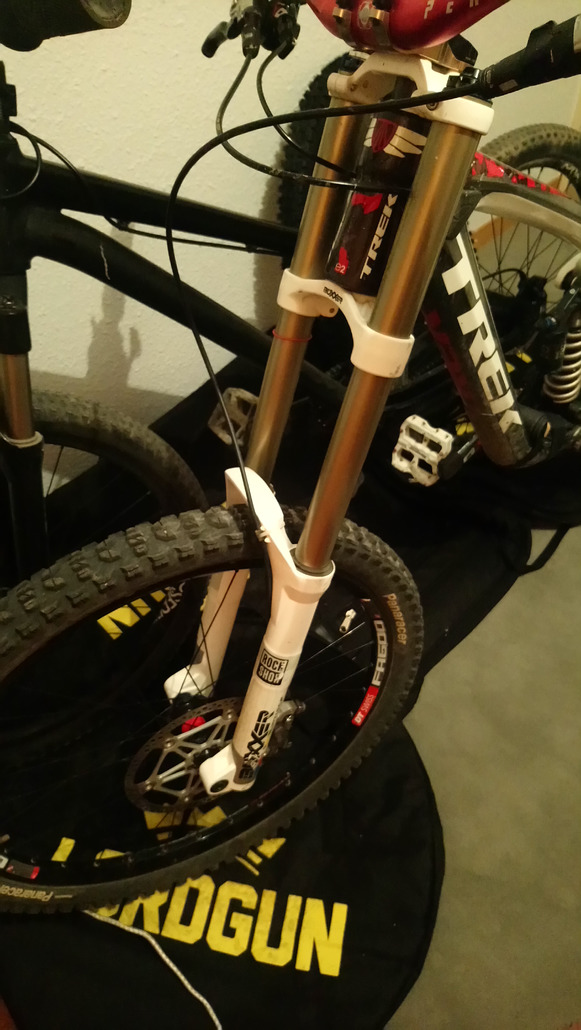 RockShox Boxxer wold cup upgrade