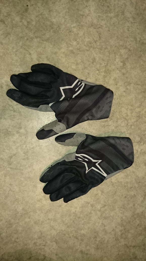 alpinestar racer noir L