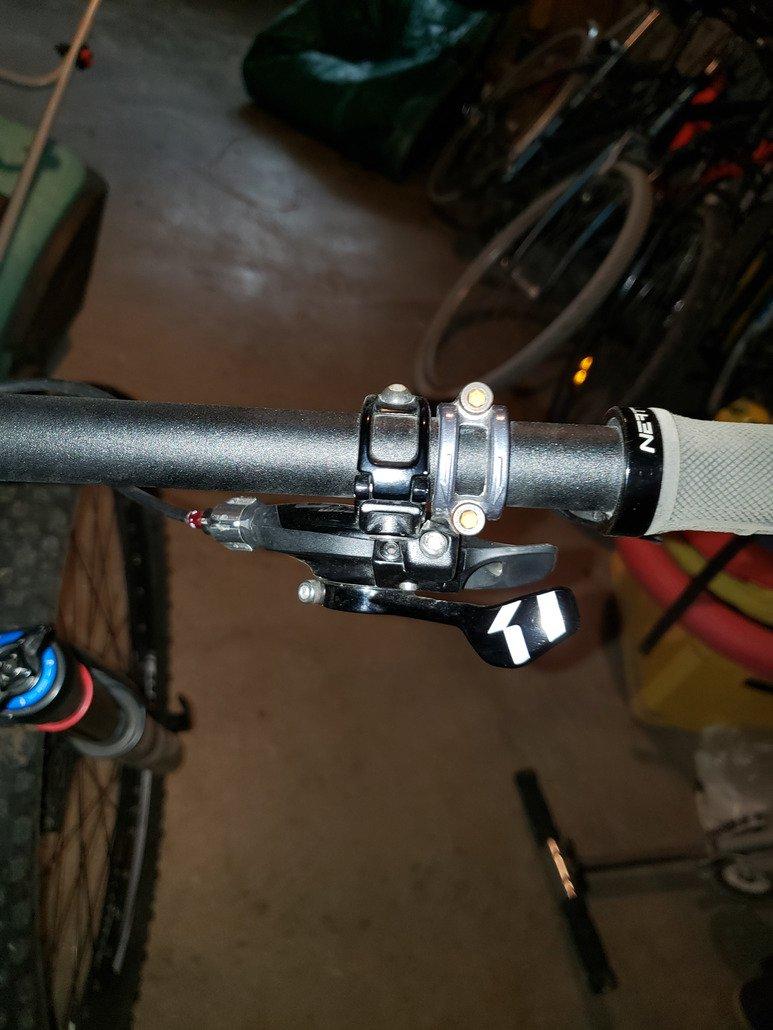 SRAM shifter XO1