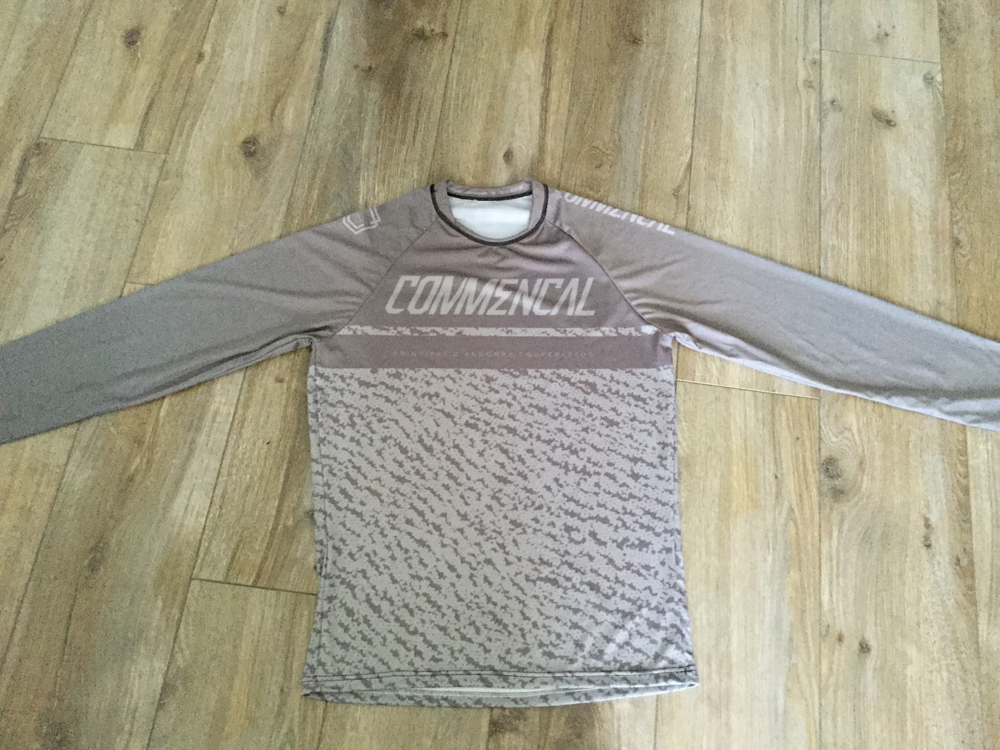 Comm Maillot manches longues commencal grey 2019