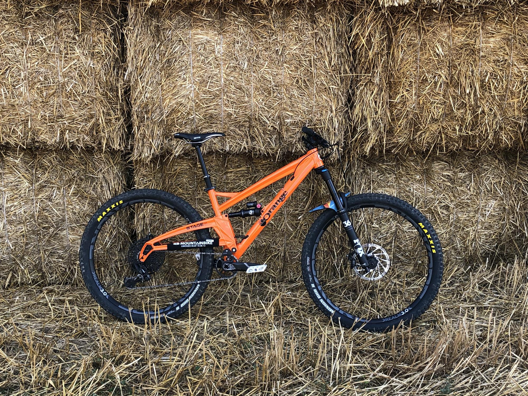 Orange bikes Stage 6 pro