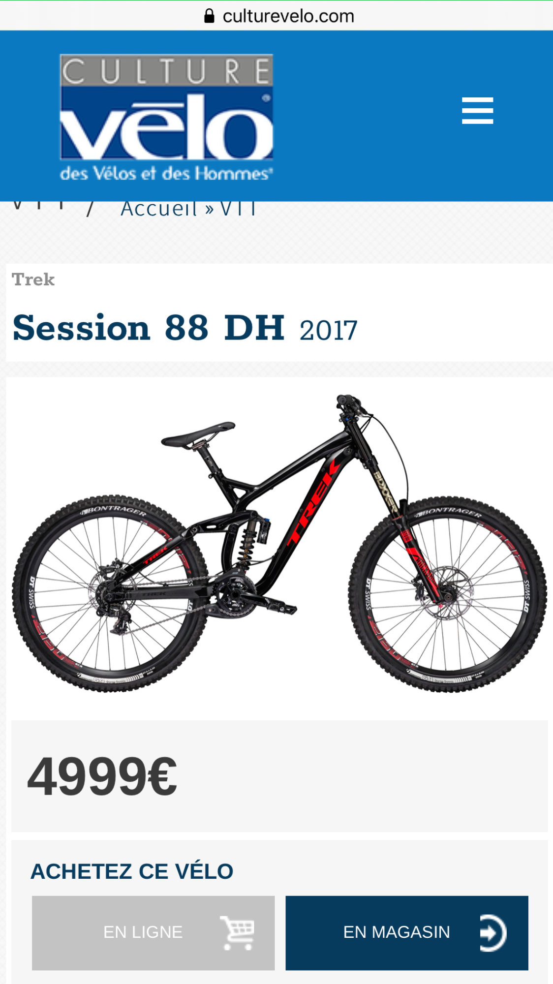 Trek Session 88