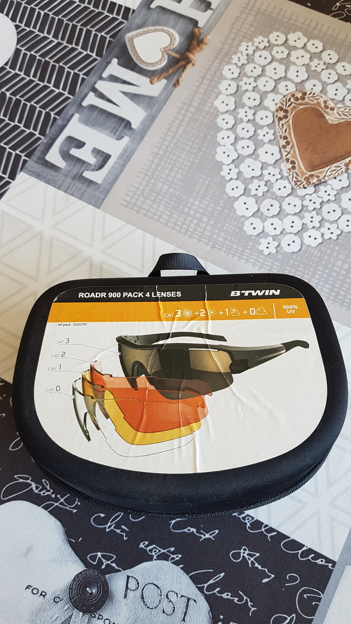 btwin roadr 900 pack 4 lenses