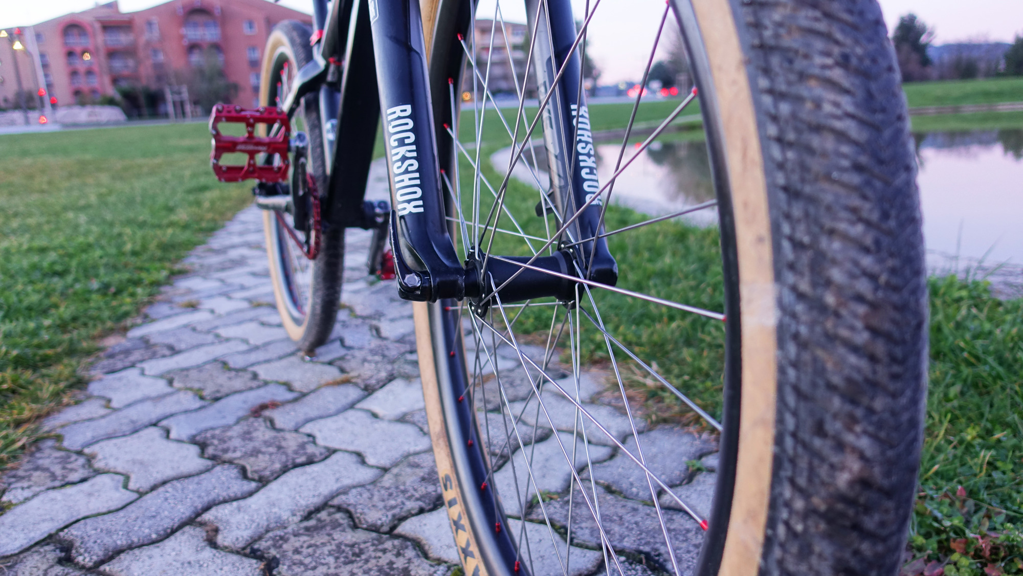 "Aliexpress EliteWheels Jantes Carbone 26"" 35mm AM"