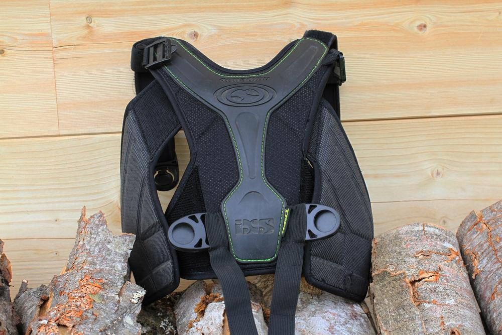 IXS Hammer EVO Protecteurs Veste Gilet dorsale Protection Mtb Dh Noir