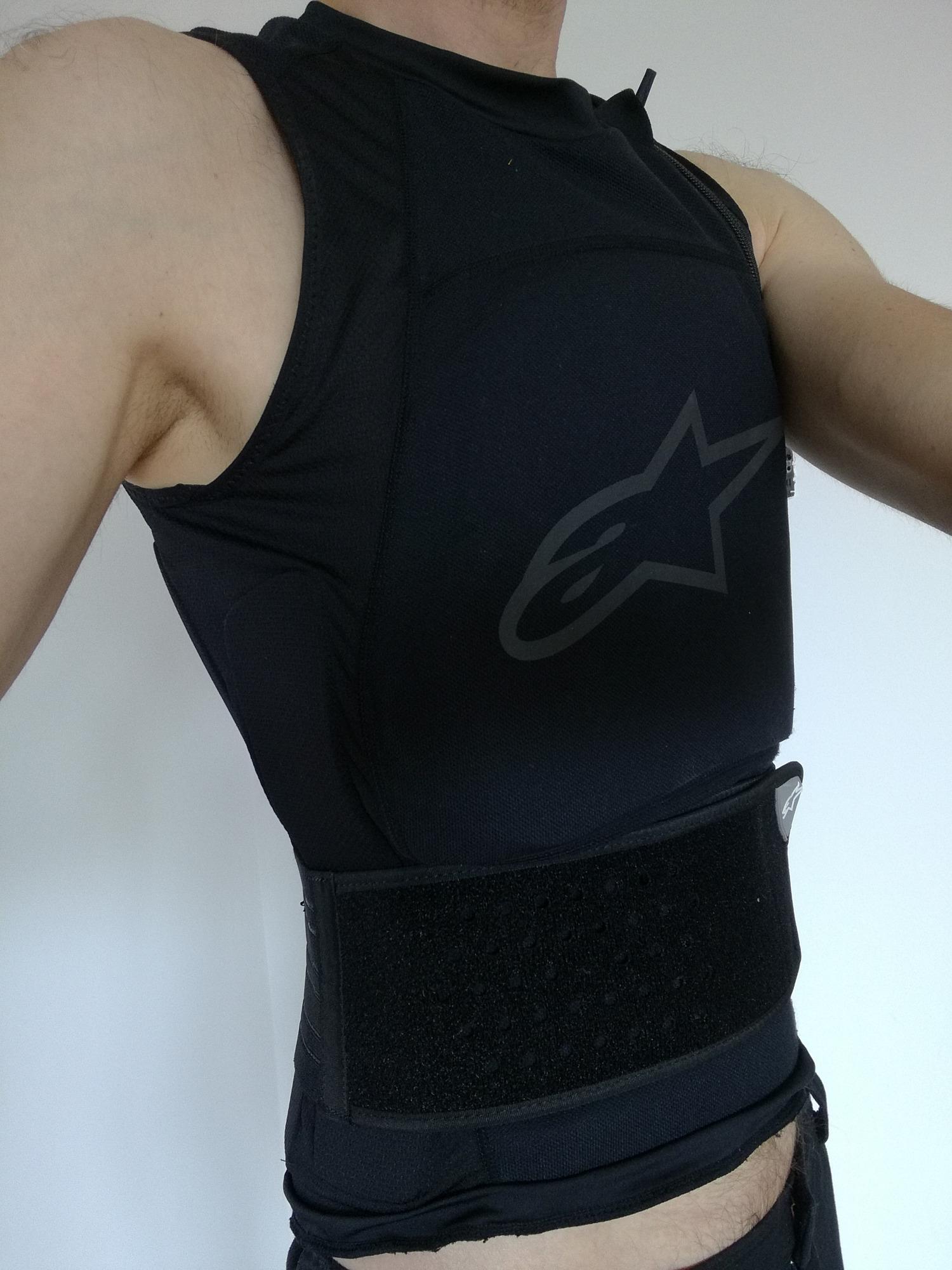 Alpinestars veste dorsale paragon pro