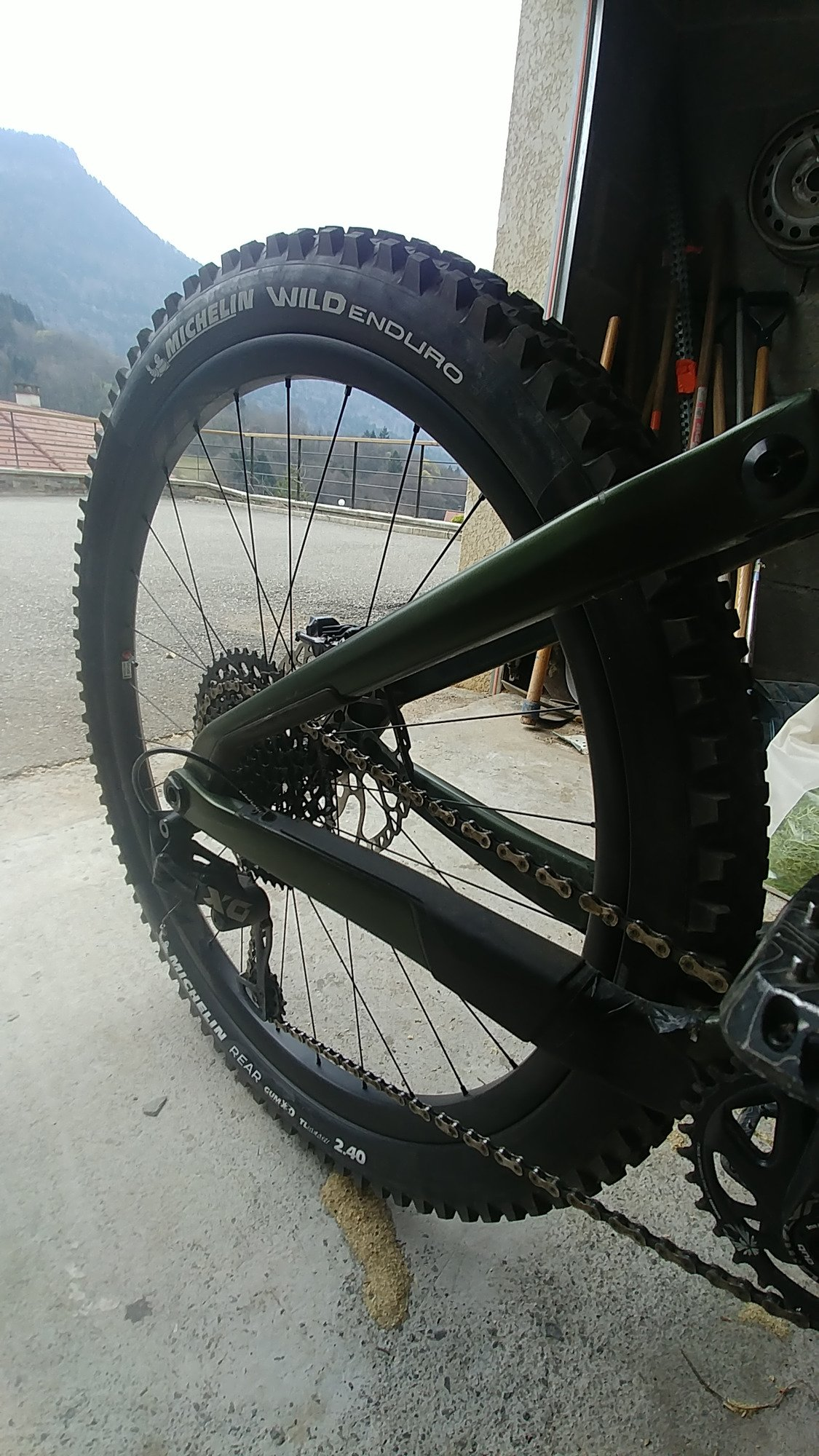MICHELIN wild enduro rear