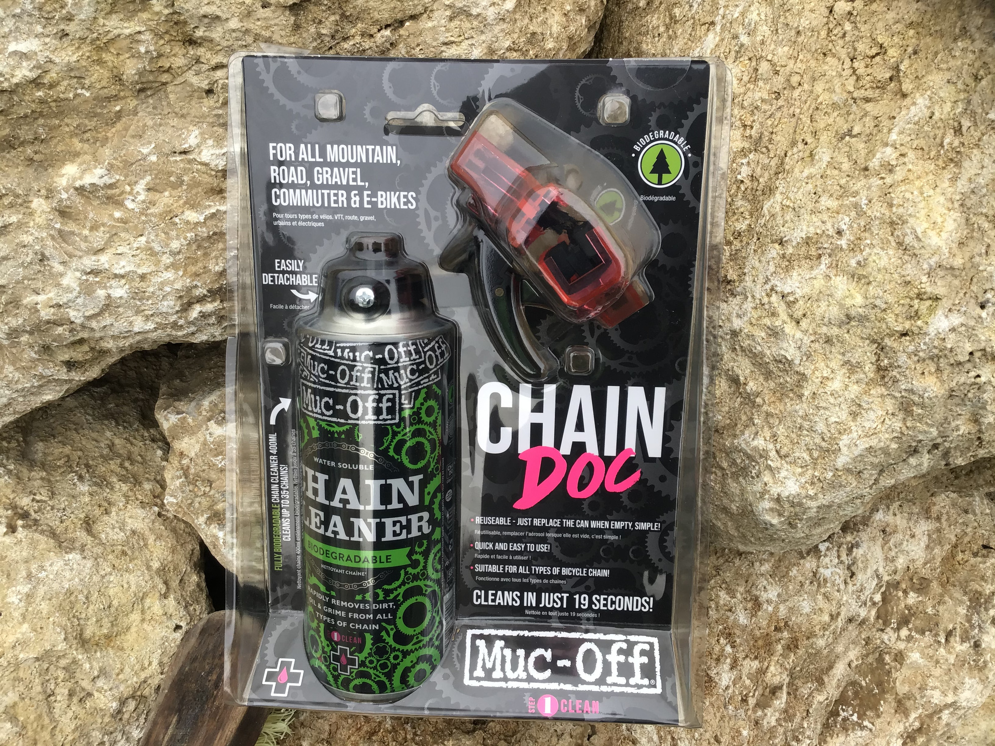 MUC OFF Chaîne cleaner