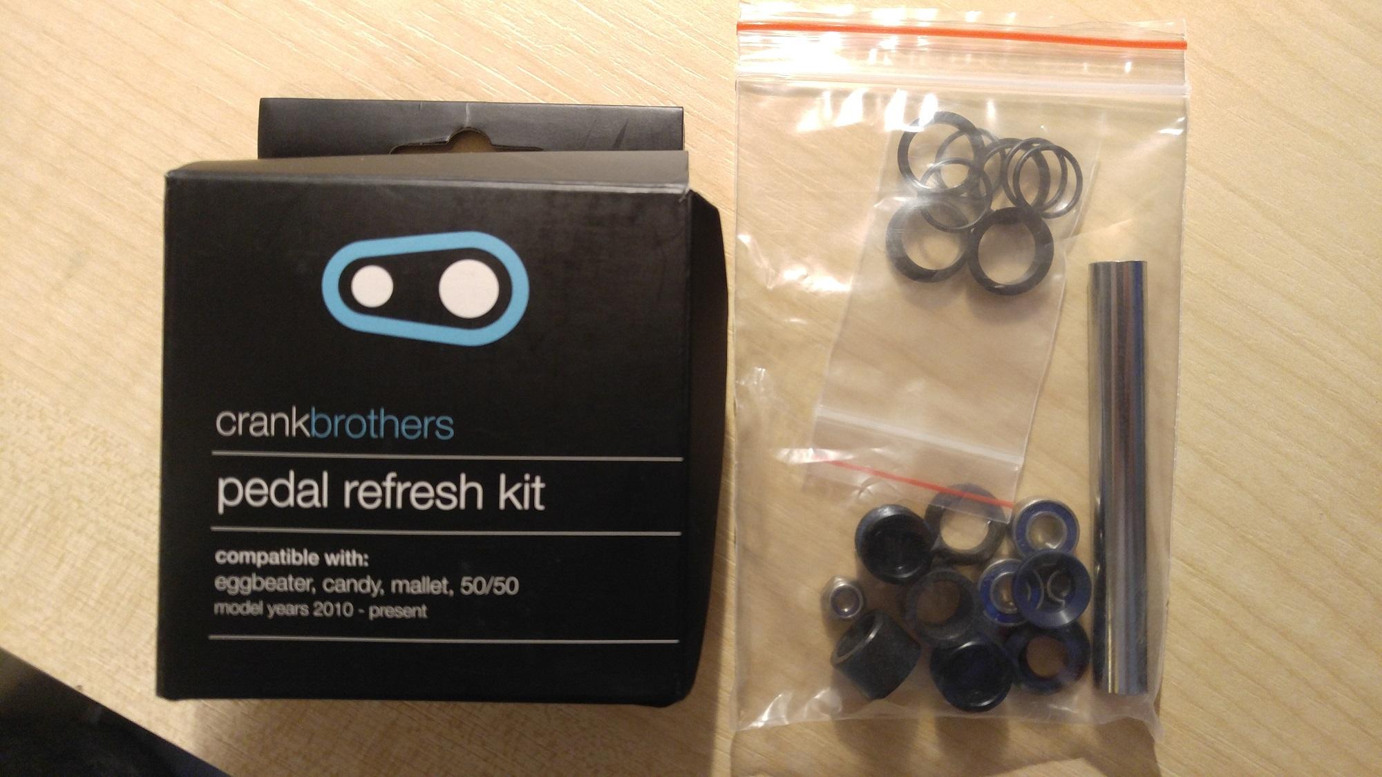 Crankbrothers Pedal Refresh Kit