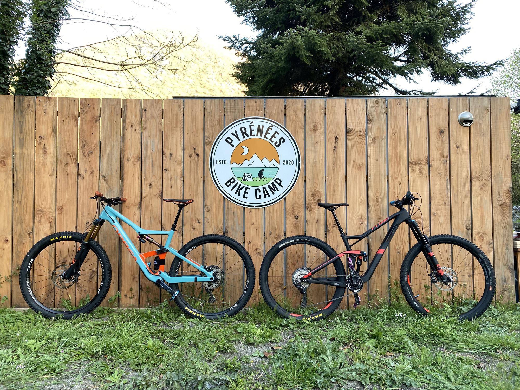 pyrénée bike camp bike camp