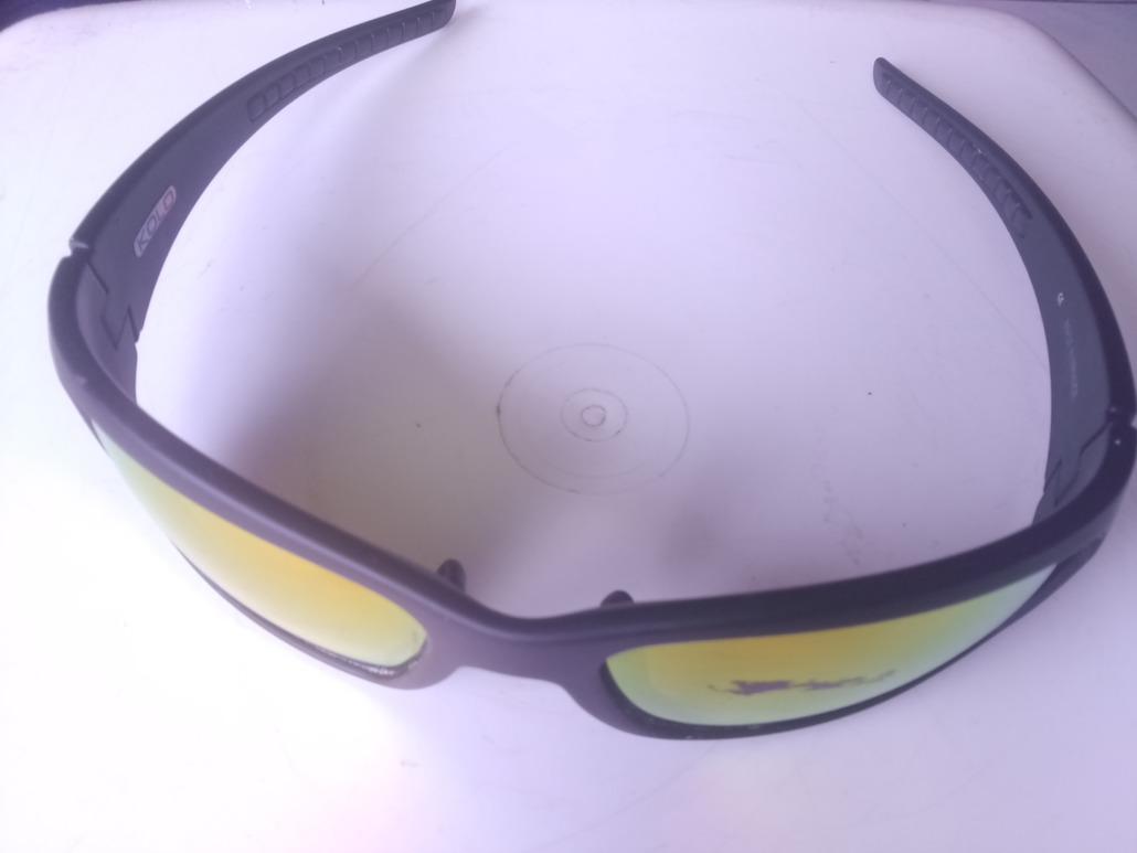 Kolo Lunettes polarisées TIO37 noir mat verres proridium orange