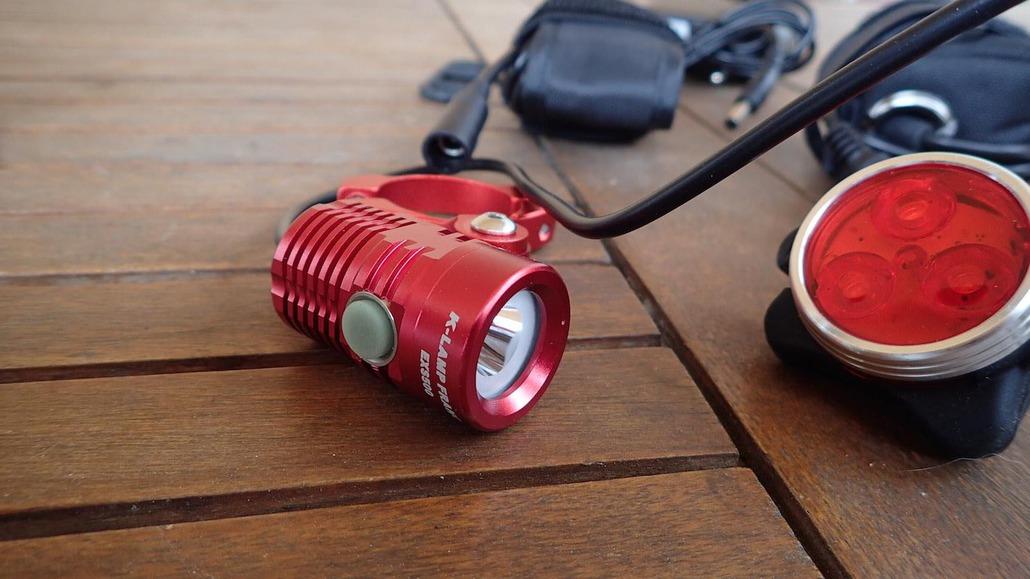 Klamp kit all mountain avec télécommande et feu arrière puissant