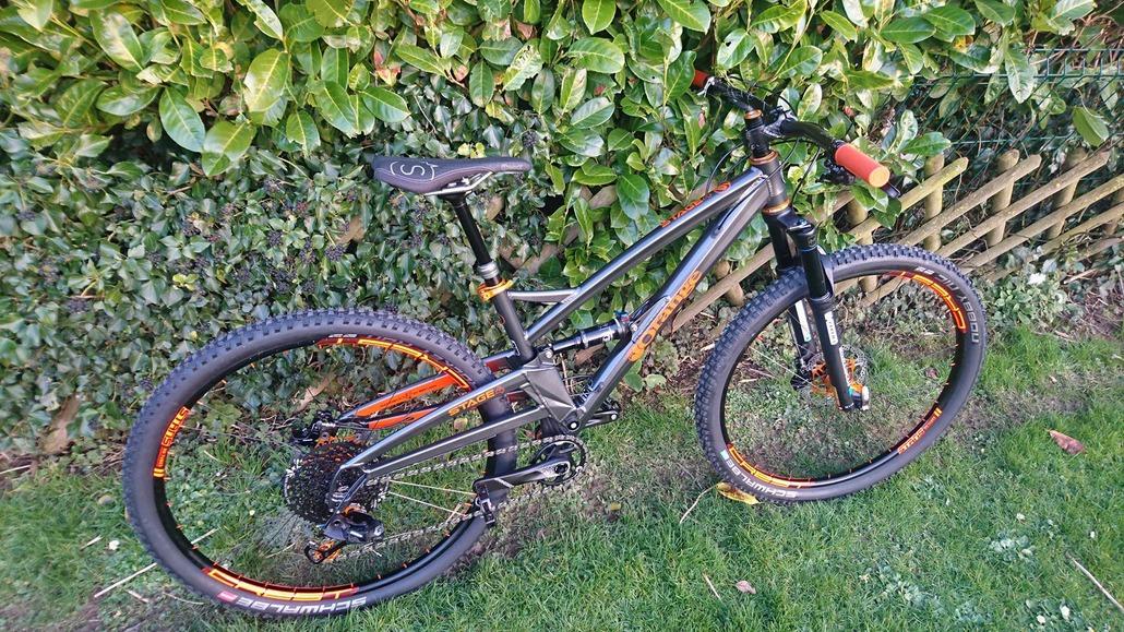 Orange bikes Stage 4