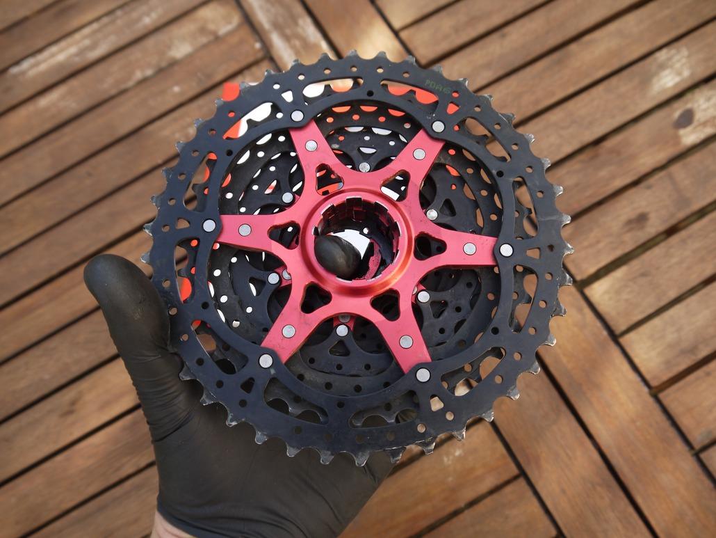 rouge SUNRACE MX8 11 Vitesse Vélo De Montagne cassette 11-42
