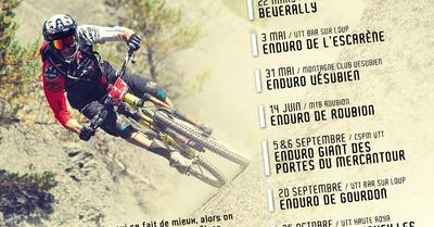 Calendrier 2015 1001 Enduro Tour