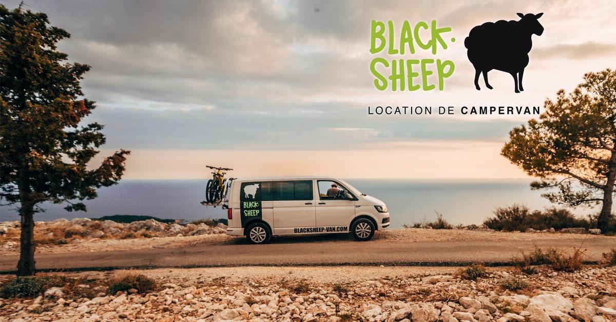 Blacksheep VAN - California Confort & Black Up