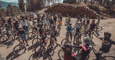 "Evo Bike-Park : inauguration de la ""Whip-it"""