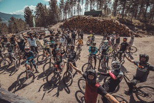 "Evo Bike-Park : inauguration de la ""Whip-it"""