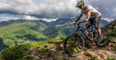 Peyragudes, paradis du vélo.